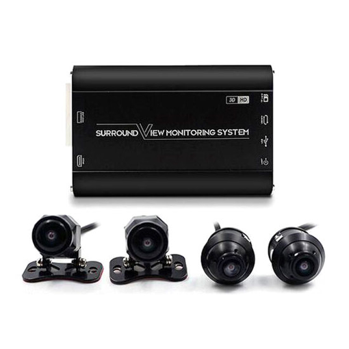 360 Degree Dash Cam 3D, Bird's Eye View for Car