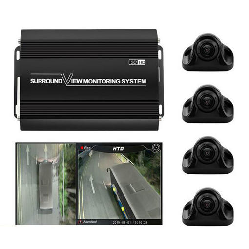 360 Degree Dash Cam for Truck