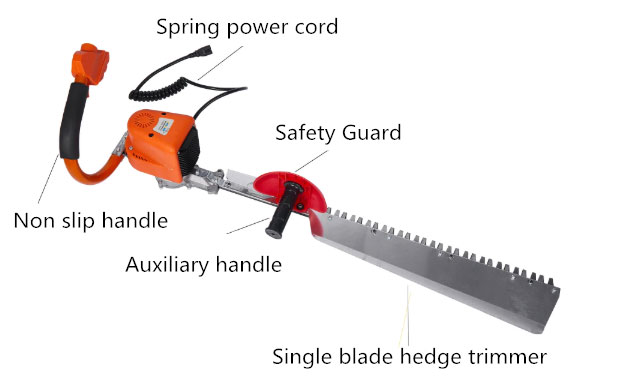 Electric topiary trimmer