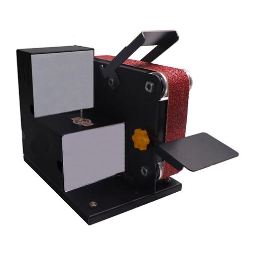 1-1/5 x 9-1/4 Inch Mini Bench Belt Sander, 7-Speed