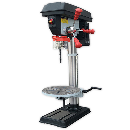 16-Speed Bench Drill Press with Laser, 16mm, 1000W