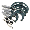 4-Piece Outside Micrometer, 0-100mm, 0.01mm
