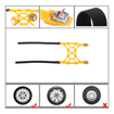 6 Piece Tire Chain for SUV/Car