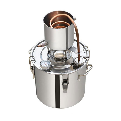 3/5/8/13 Gal Alcohol Distiller Copper Tube Still Kit for Wine Brewing