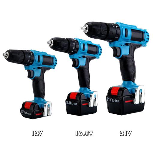 12V/16.8V/21V Cordless Drill Driver