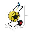 2-wheel garden hose reel cart