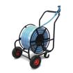 4-wheel garden hose reel cart