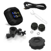 Motorcycle TPMS with 2 Tire Sensors