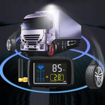 Wireless Truck TPMS with 22 Tire Sensors