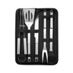 5 Piece Outdoor Grill Utensil Set with Carry Bag