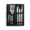 5 Piece Grilling Tool Set with Aluminum Case