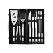 10PCS Luxury BBQ Tool Set with Case, Stainless Steel