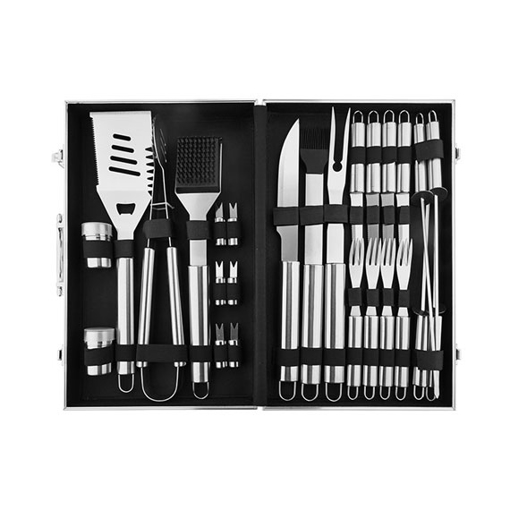 26 Piece Home Complete Deluxe Barbecue Tool Kit