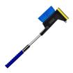 Telescopic Ice Scraper with Brush/Hammer