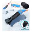 Ice Scraper with Glove, Blue/Black