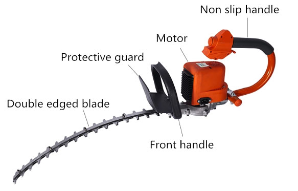 22 inch electric hedge trimmer