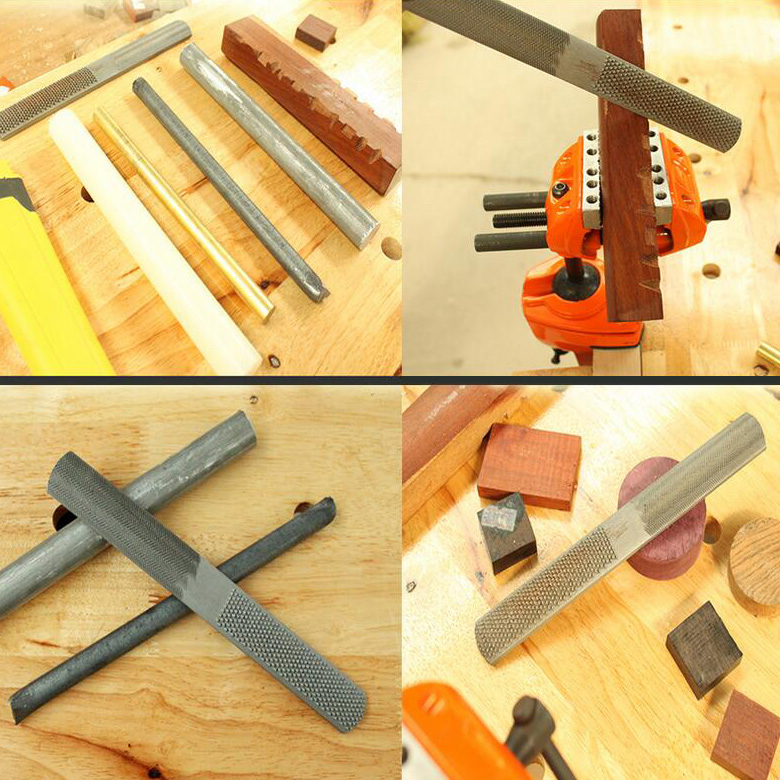 4-in-1 Wood Rasp File Applications