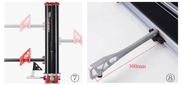 4 manual tile cutter detail size