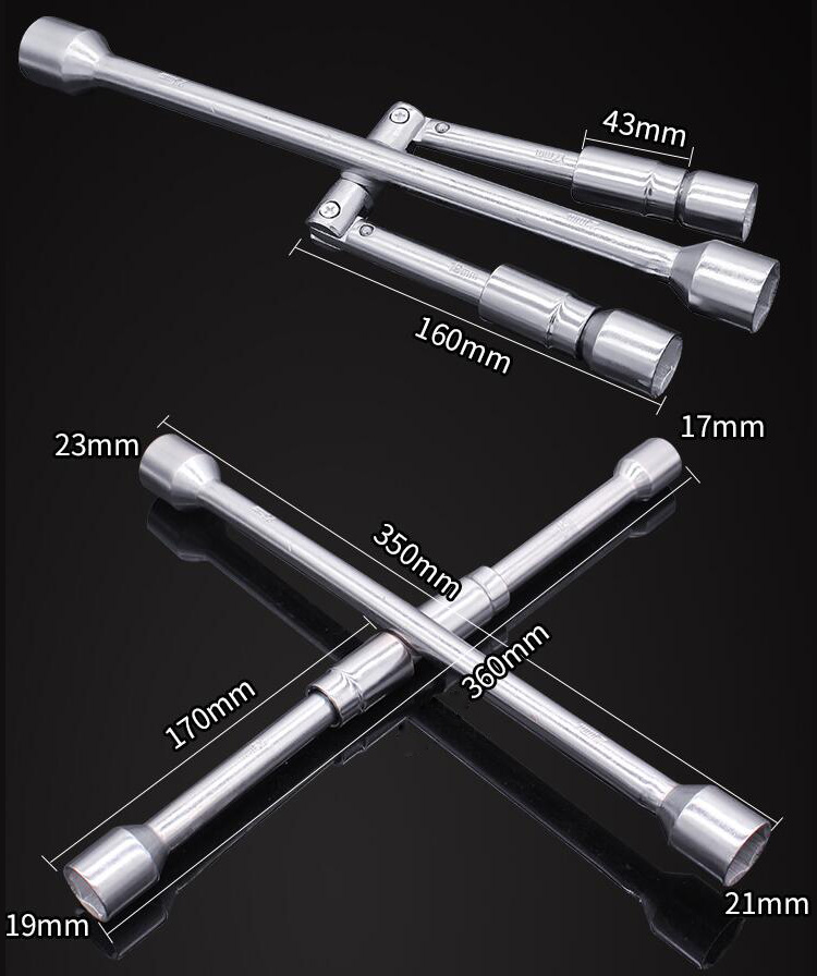 4 Way Lug Wrench Size