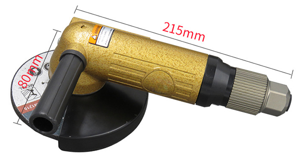 5 inch air angle grinder size