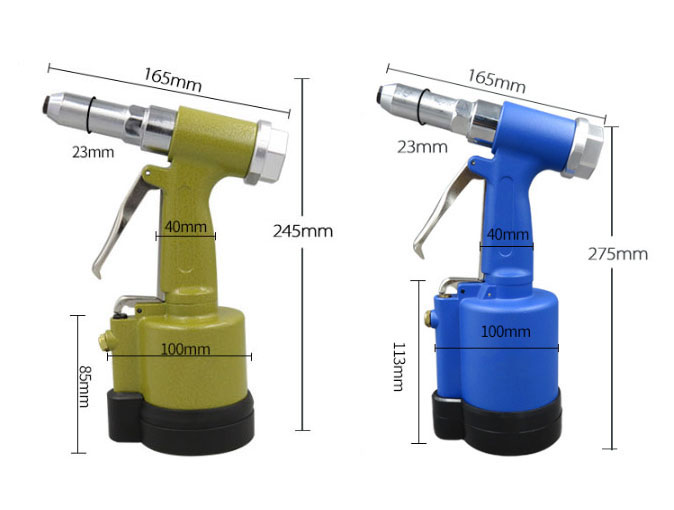 Air Pop Rivet Gun 3/16 Inch Dimension