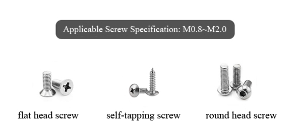 Applicable Screw of Turntable Small Automatic Screw Feeder