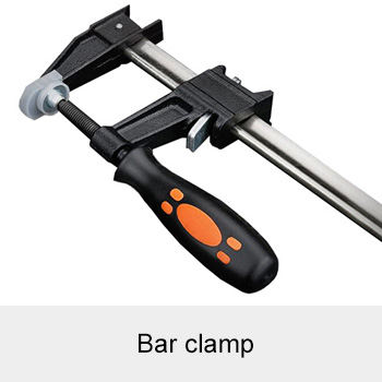 Bar clamp or F-clamp