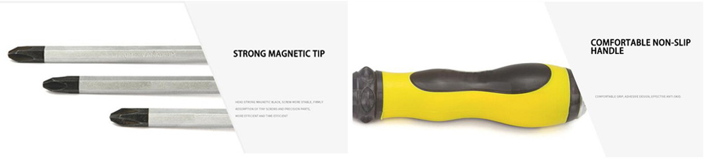 Cross Head Magnetic Screwdriver Details