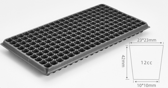 Details of 10x20 plant growing trays