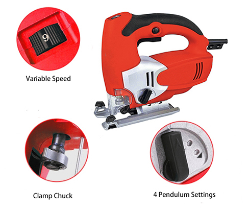 Details of 3.15 Inch Electric Jig Saw, 2.7A