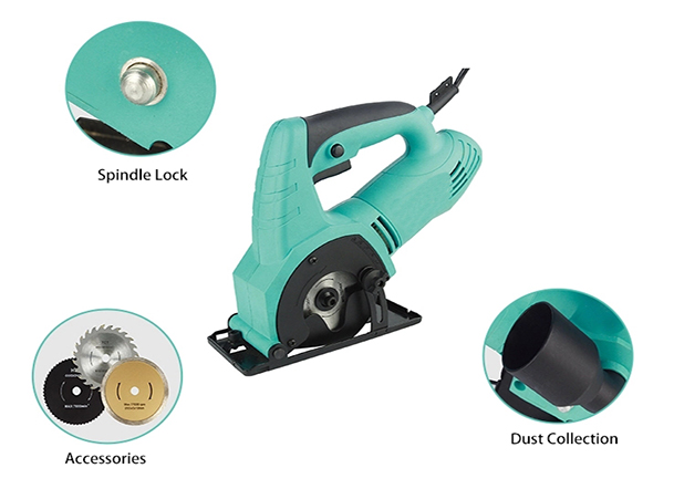 Details of 85mm Electric Circular Saw with Laser, 240V