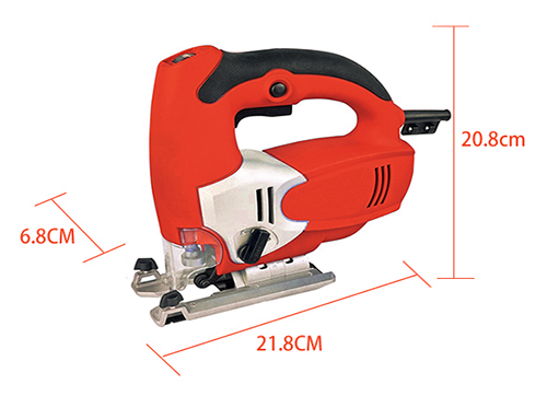 Dimension Drawing of 3.15 Inch Electric Jig Saw, 2.7A