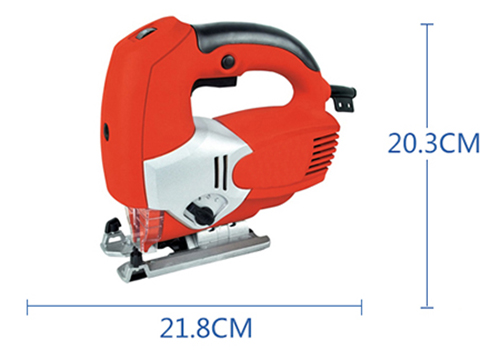 "Dimension of 3.15"" Electric Jigsaw with Laser, 3.3 Amp"