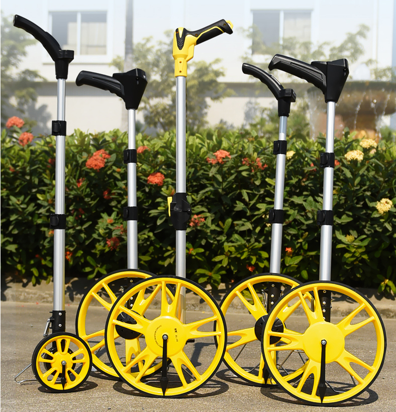 "12"" best LCD dispaly distance measuring wheel application"