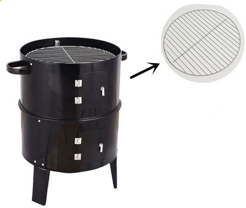 Double layer barbecue net