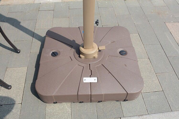 Heavy duty umbrella base