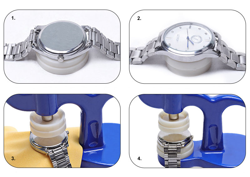 How to Close a Watch Case Back