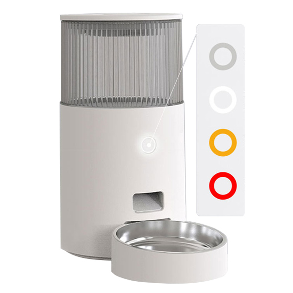 Indicator Light of 2.5L Smart Automatic Pet Feeder with WIFI