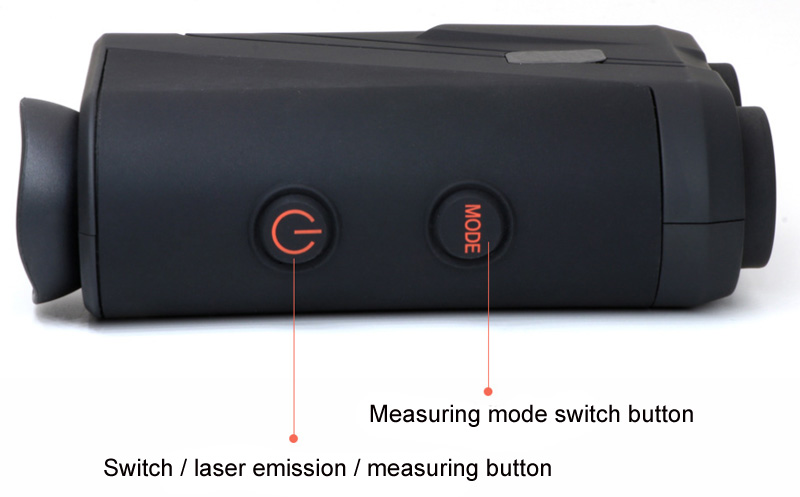 Golf digital laser rangefinder details