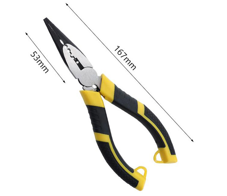 6-inch Long Nose Pliers Dimensions