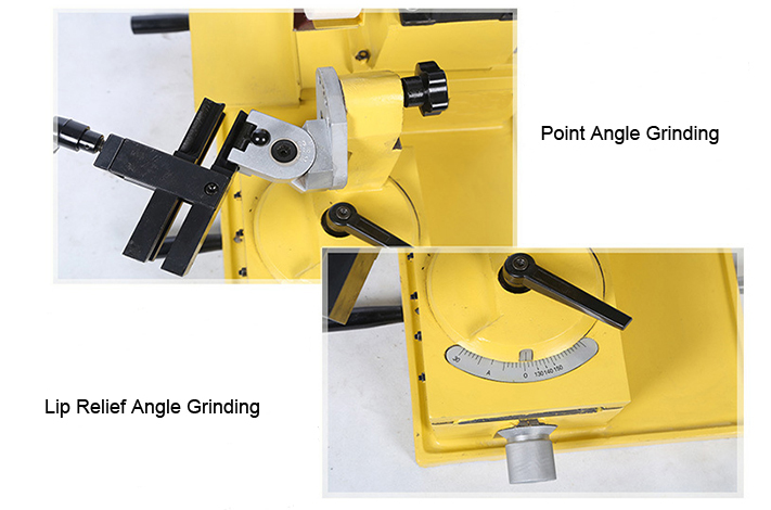 Operation Method of 500W Drill Bit Sharpener Grinder, 3~80mm