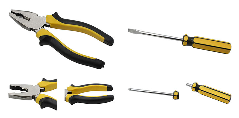 Pliers and Screwdriver Details
