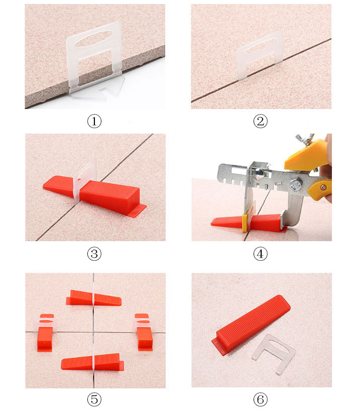 Tile leveling system 1-16 inch kit how to use tips
