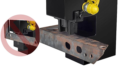 Use Hydraulic Punching Machine Punching Angle Steel/Iron